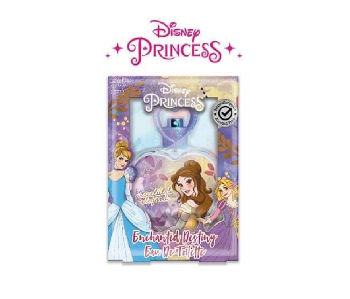DISNEY PRINCIPESSE EDT EAU DE TOILETTE ENCHANTED DESTINY SPRAY PER BAMBINI 50 ML