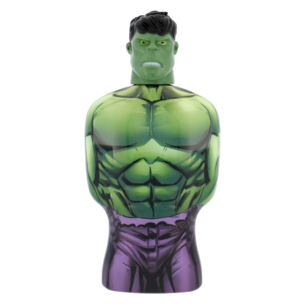 MARVEL AVENGERS GEL DOCCIA SHOWER GEL HULK BUSTO 3D 350 ML
