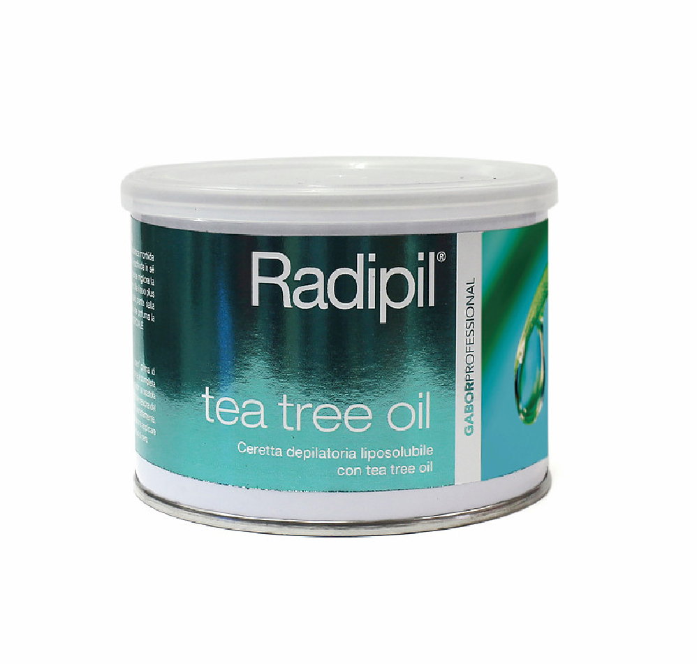 GABOR RAPIDIL CERA DEPILATORIA LIPOSOLUBILE CON ESTRATTO DI TEA TREE OIL 400 ML