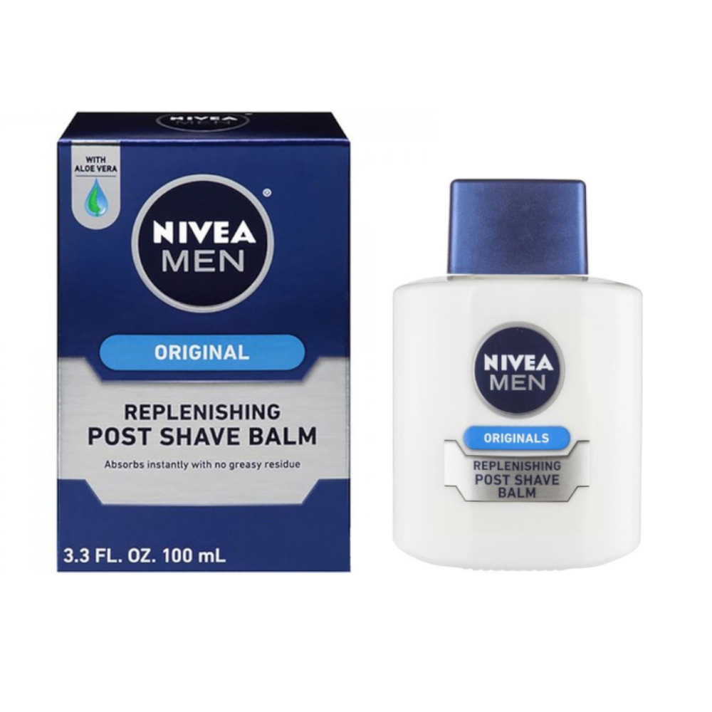 NIVEA MEN ORIGINALS REPLENISHING POST SHAVE BALM BALSAMO DOPOBARBA PER PELLI SENSIBILI 100ml