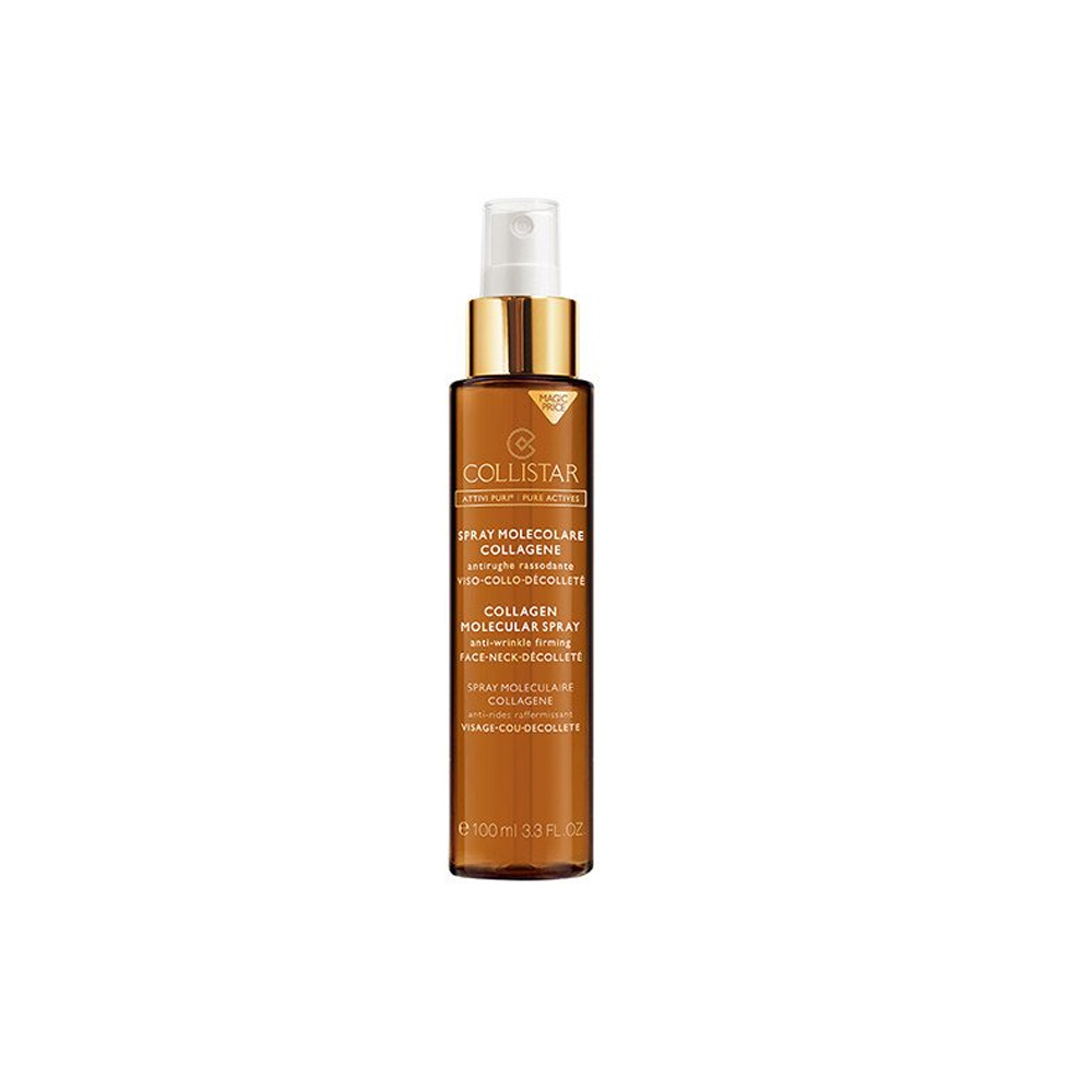 COLLISTAR ATTIVI PURI SPRAY MOLECOLARE COLLAGENE ANTIRUGHE RASSODANTE VISO COLLO DECOLLETE 100 ml