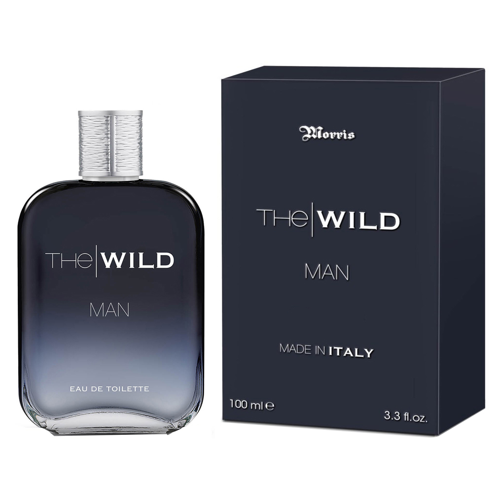 MORRIS THE WILD MAN PROFUMO UOMO EDT EAU DE TOILETTE NATURAL SPRAY 100 ML