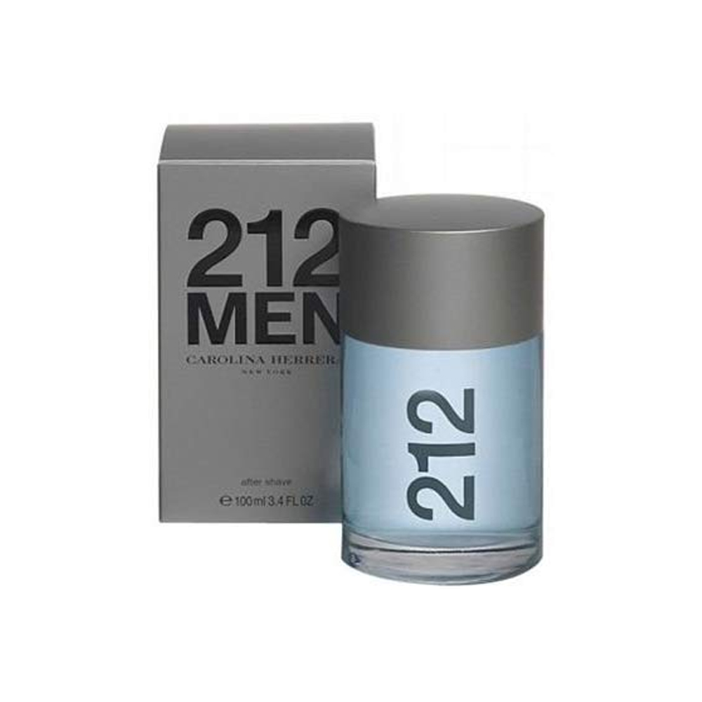 212 MEN CAROLINA HERRERA AFTER SHAVE DOPOBARBA UOMO 100 ML