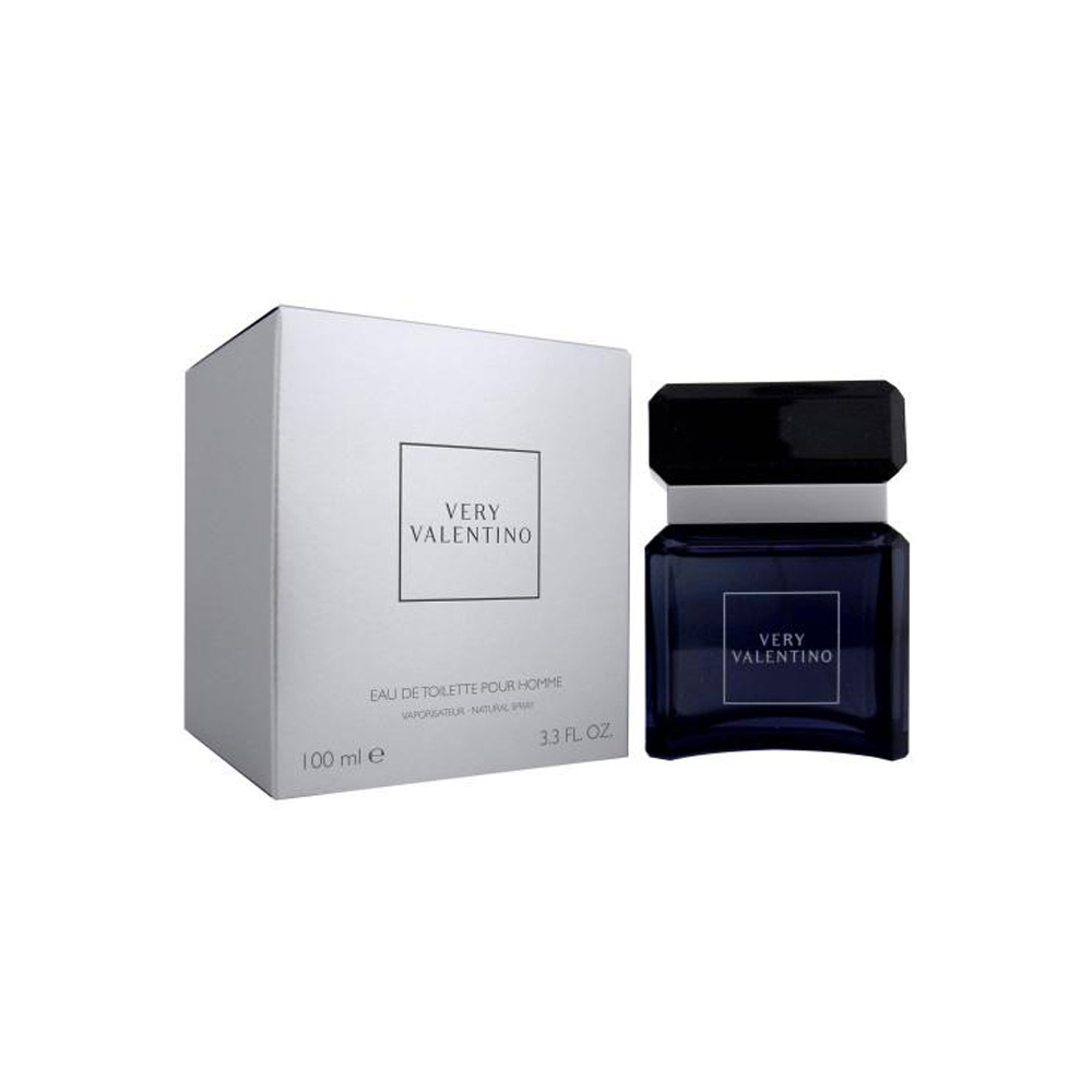 Valentino Very Profumo Uomo Edt Eau De Toilette Spray Pour Homme 100 ml