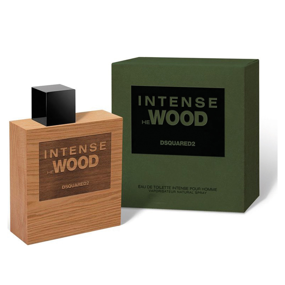Dsquared2 Intense He Wood Profumo Edt Eau De Toilette Spray Confezione Singola 1 x 30 ml