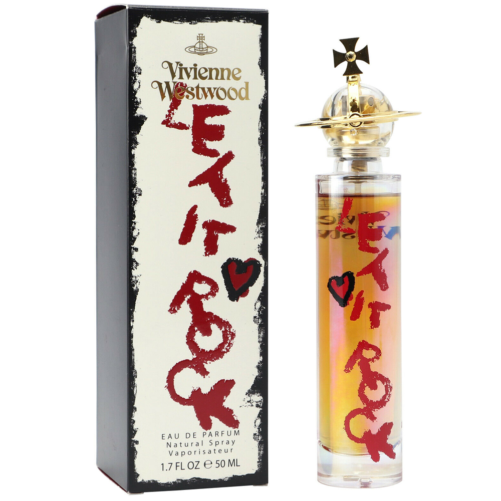 Vivienne Westwood Let it Rock Profumo Donna Edp Eau De Parfum Spray 50 ml