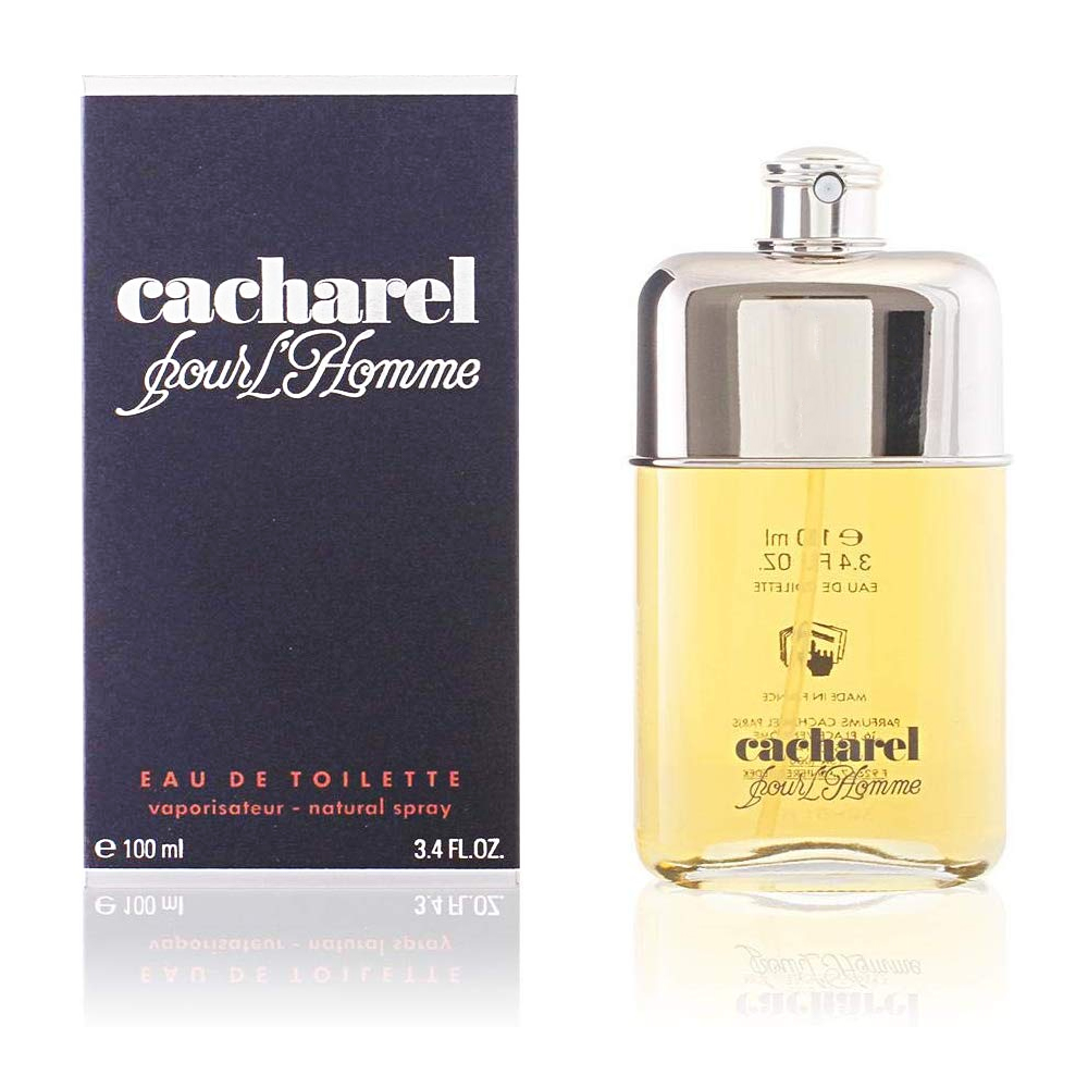 Cacharel Pour Homme Profumo Uomo Edt Eau De Toilette Spray 100 Ml