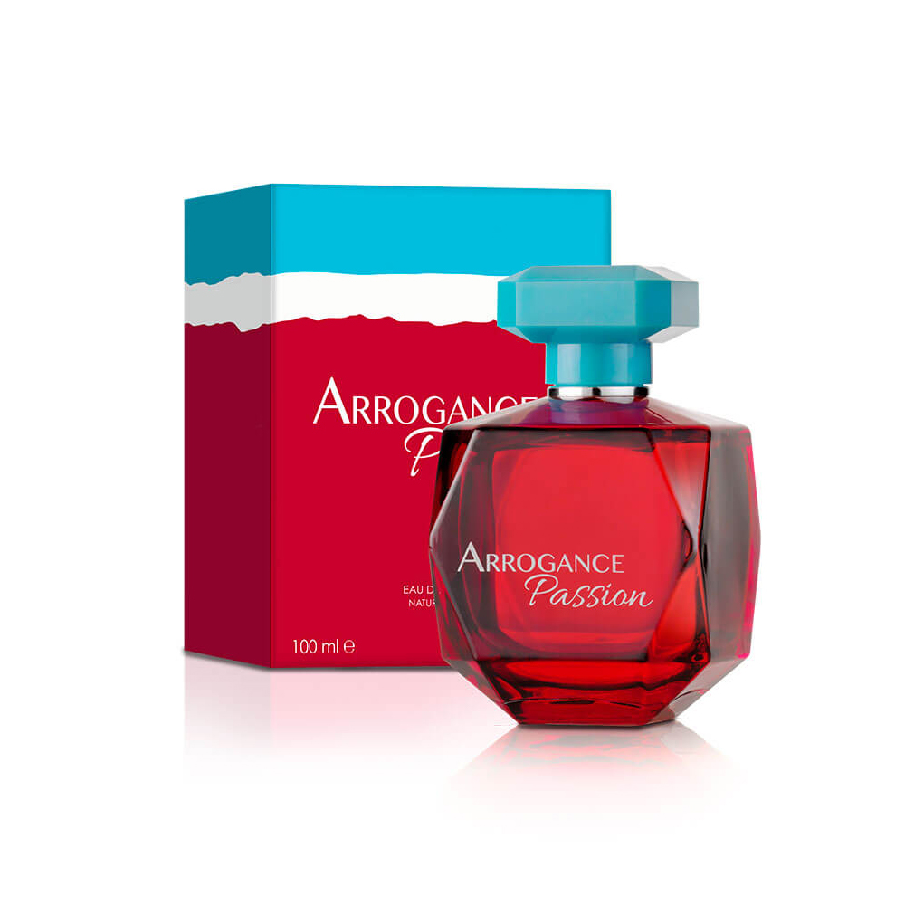 Arrogance Passion Profumo Donna Edt Eau De Toilette Natural Spray 100 Ml Nuova Versione