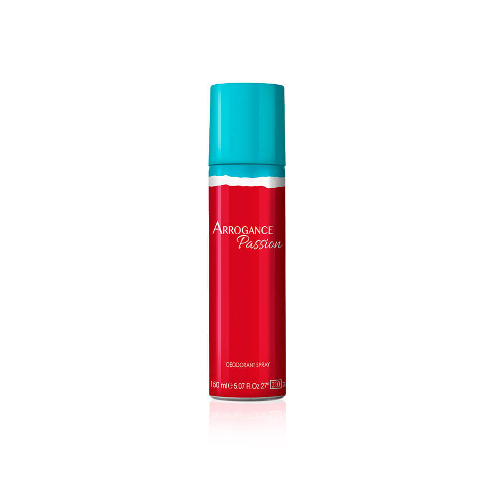 Arrogance Passion Deodorante Spray Donna 150 Ml