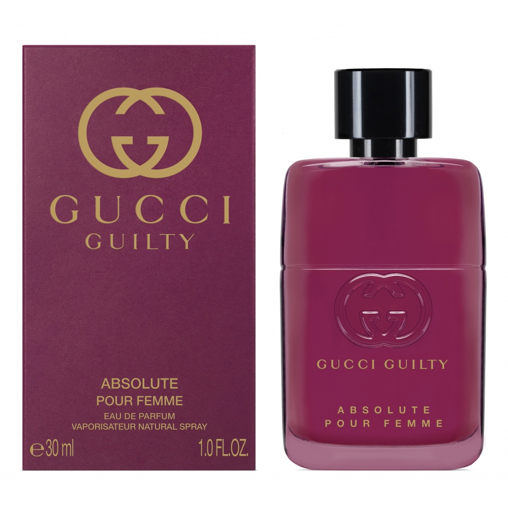 Gucci Guilty Absolute Pour Femme Profumo Donna Edp Eau De Parfum Vaporisateur Natural Spray 30ml