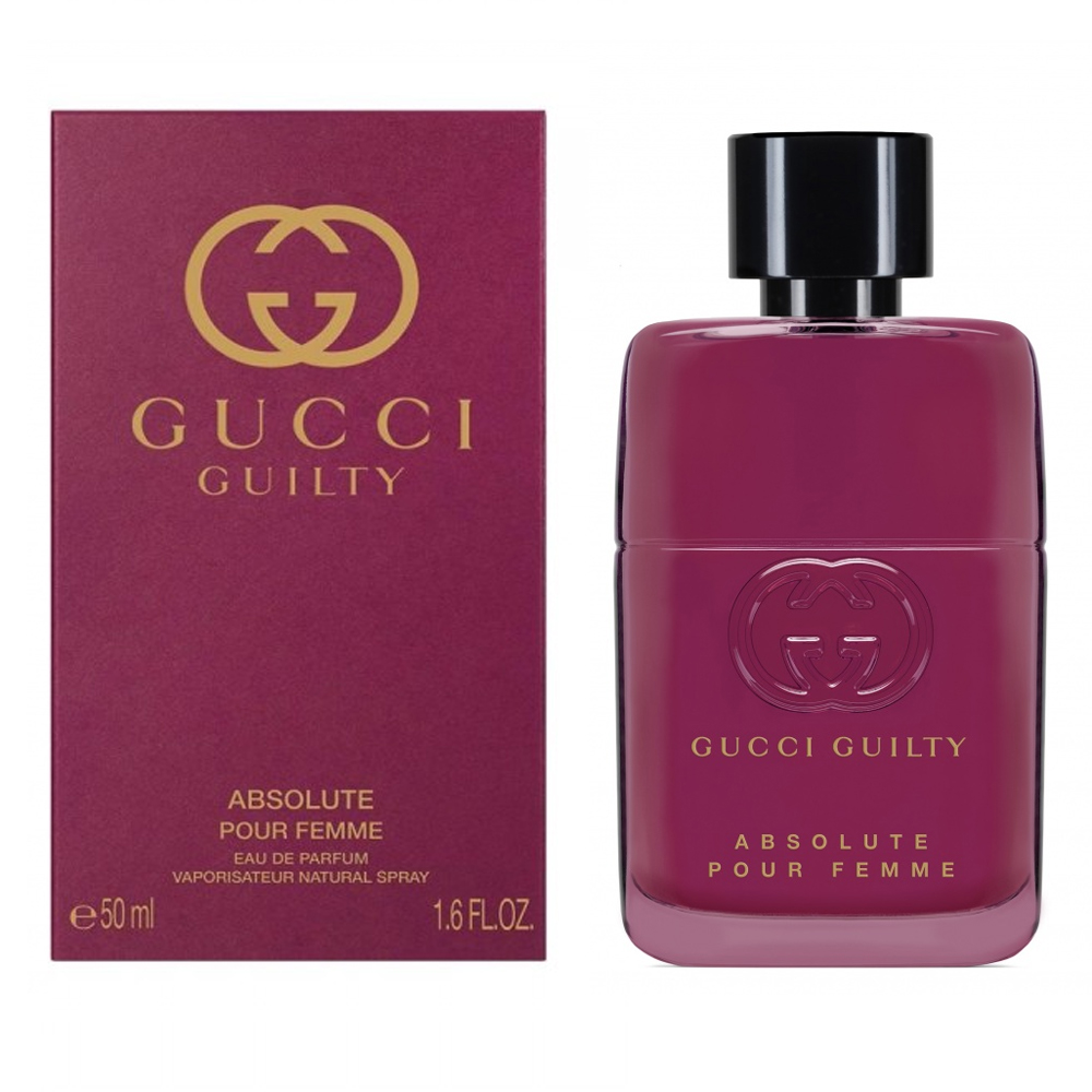 Gucci Guilty Absolute Pour Femme Profumo Donna Edp Eau De Parfum Vaporisateur Natural Spray 50 Ml