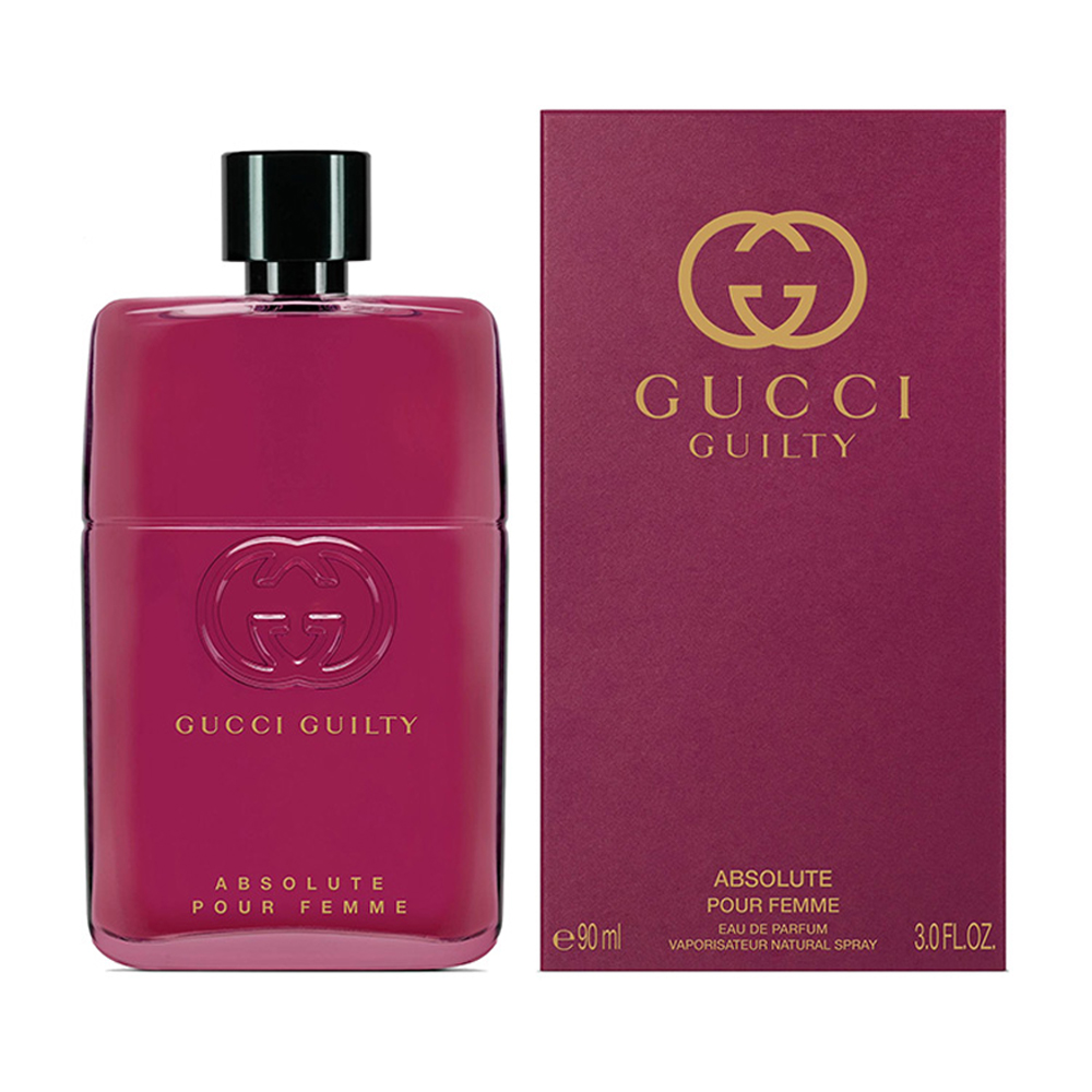 Gucci Guilty Absolute Pour Femme Profumo Donna Edp Eau De Parfum Vaporisateur Natural Spray 90 Ml