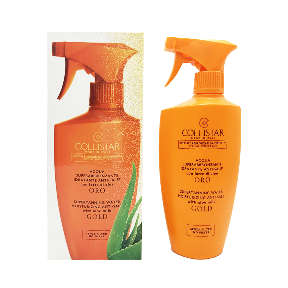 Collistar Acqua Superabbronzante Idratante Anti Sale Con Latte Di Aloe 400 Ml