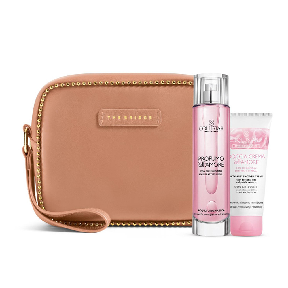 Collistar Profumo Dell'Amore Acqua Aromatica 100 Ml E Doccia Dell'Amore 50 Ml Pochette The Bridge