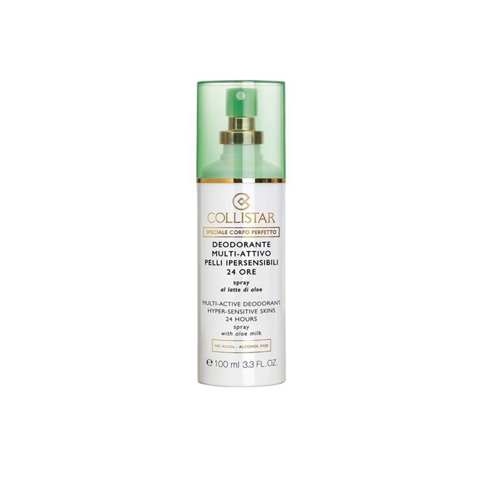 COLLISTAR DEODORANTE MULTI ATTIVO 24h SPRAY PELLI SENSIBILI LATTE DI ALOE 100ml
