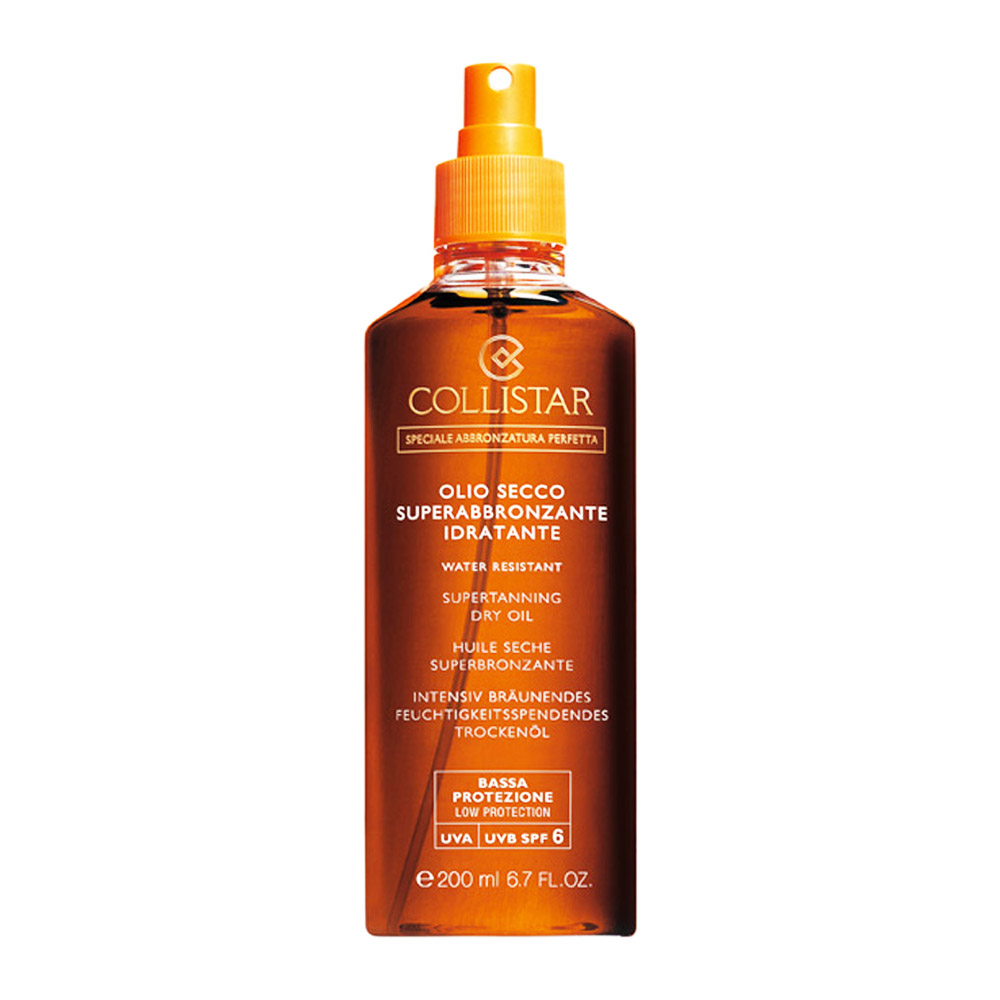COLLISTAR OLIO SECCO SUPERABBRONZANTE IDRATANTE SPRAY SPF 6 200 ml