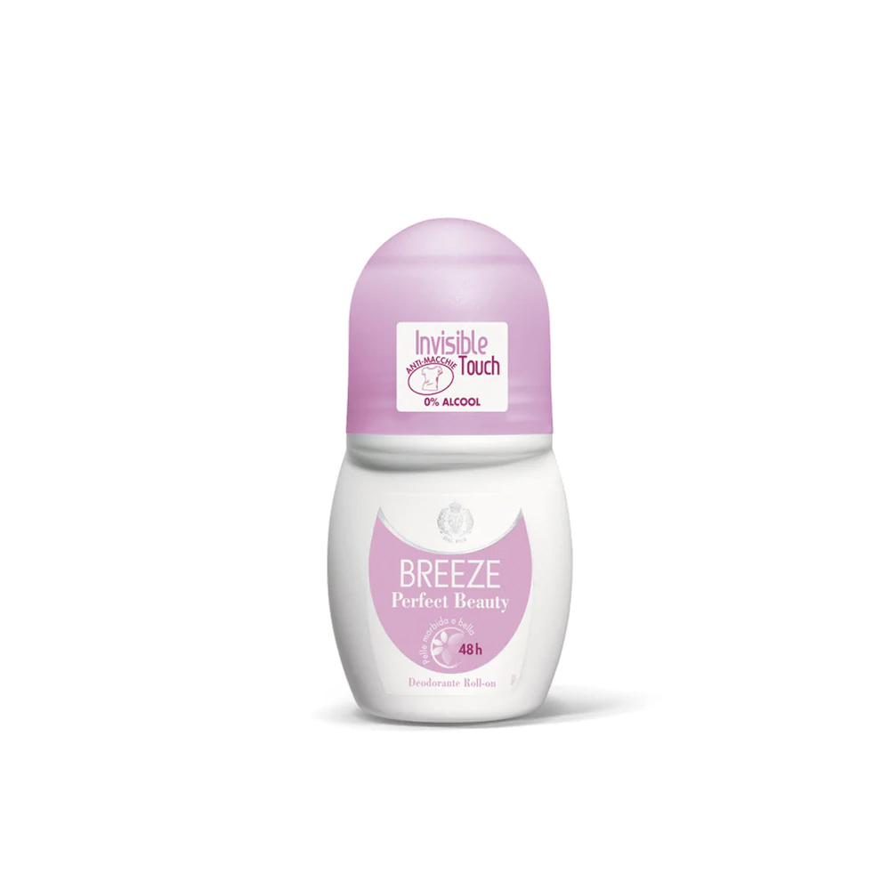 Breeze Perfect Beauty Invisible Touch Deodorante Roll On 48 H 50 Ml