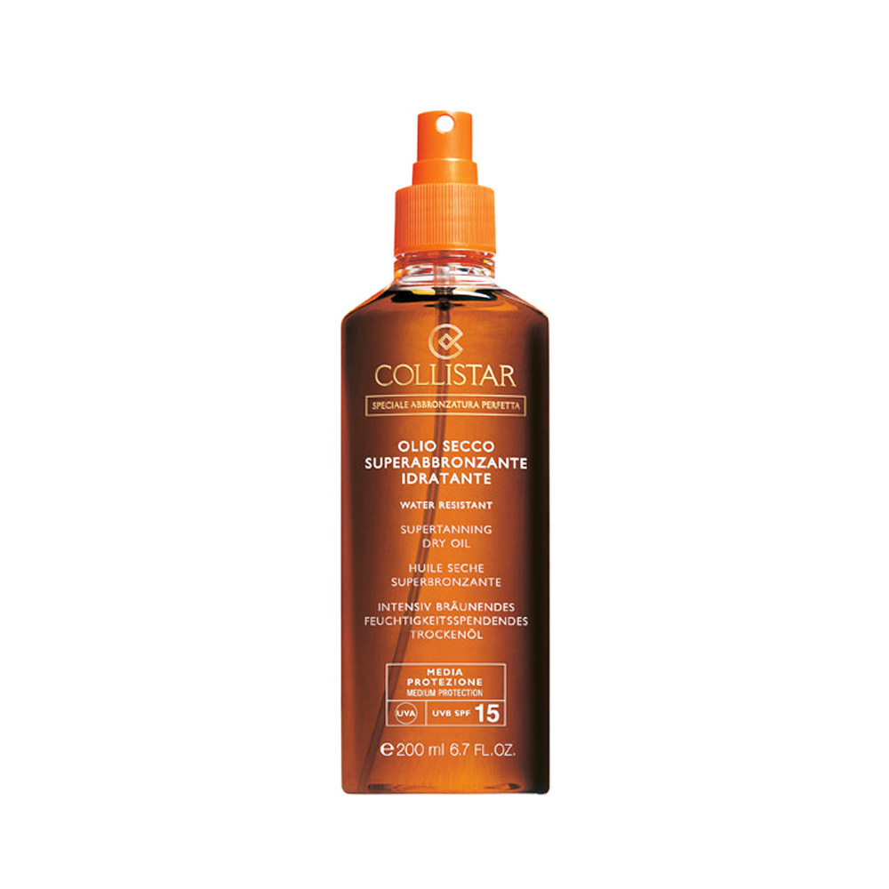 COLLISTAR OLIO SECCO SUPERABBRONZANTE IDRATANTE SPRAY SPF 15 200 ml