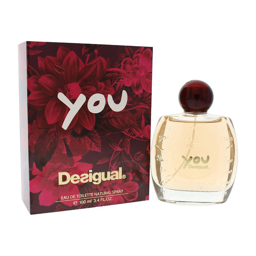 Desigual You Edt Eau De Toilette Profumo Donna Natural Spray 100ml