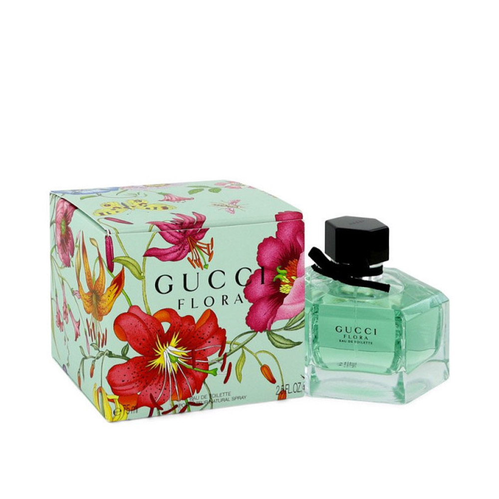 Flora By Gucci Edt Eau De Toilette Profumo Donna 75ml