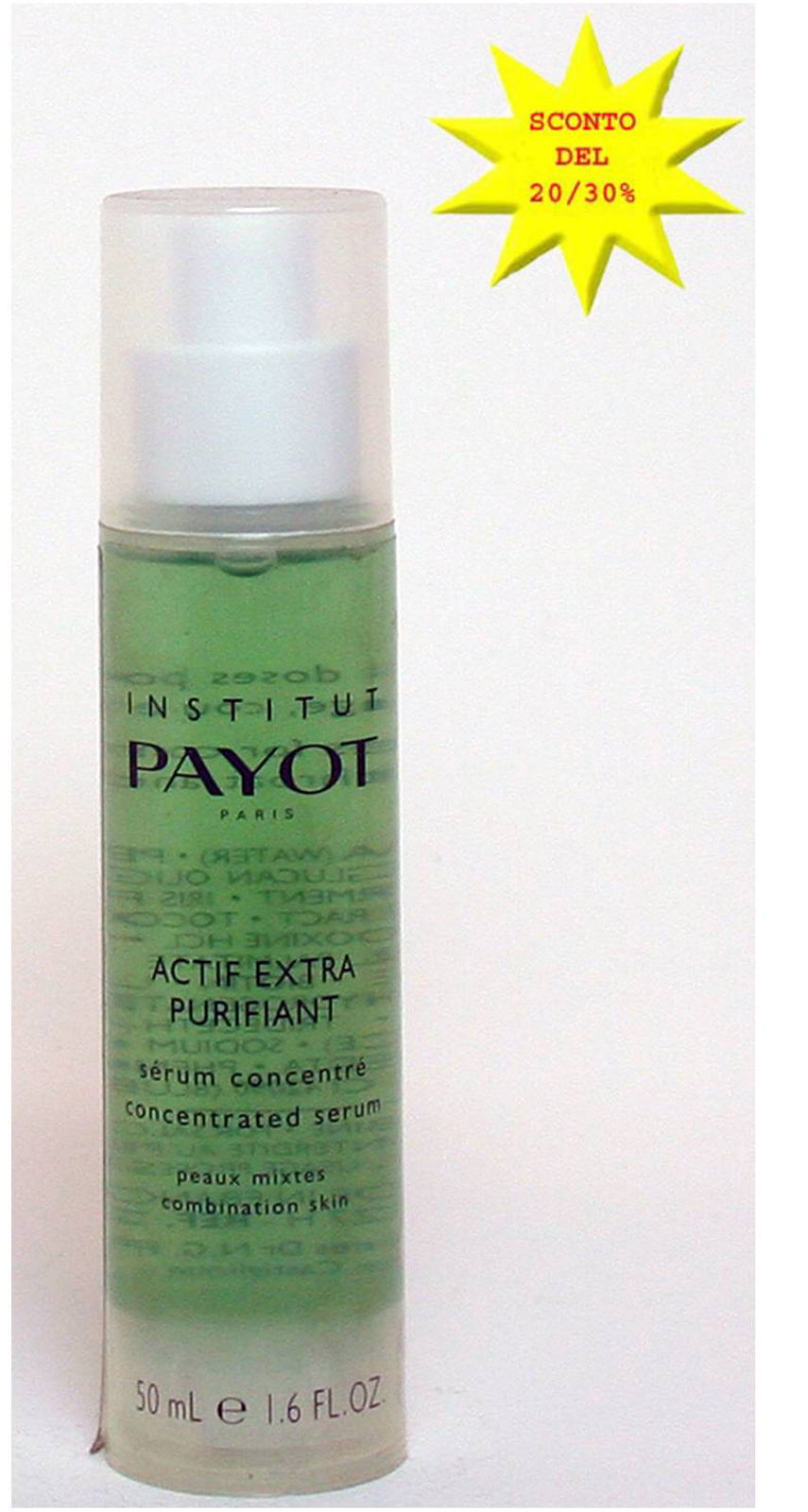 PAYOT ACTIF EXTRA PURIFIANT 50 ml