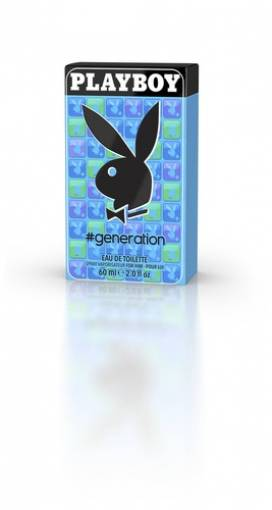 PLAYBOY GENERATION EAU DE TOILETTE EDT VAPO FOR HIM 60ml SPRAY