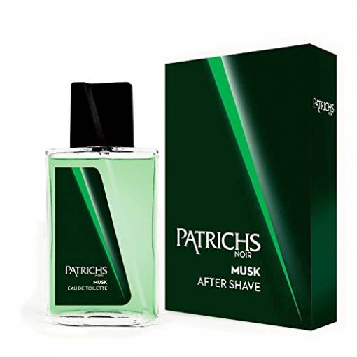 Patrichs Noir Musk After Shave Dopobarba Uomo 75 Ml