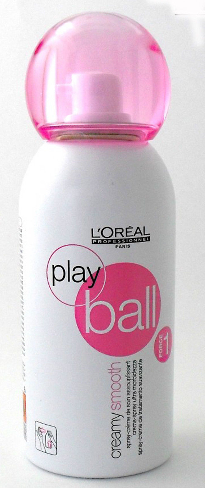 L OREAL PROFESSIONNEL PLAY BALL FORCE 1 CREAMY SMOOTH CREMA PER STYLING 15