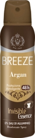 BREEZE DEO SPRAY ARGAN DEODORANTE 48h ANTI MACCHIE INVISIBLE 150ml