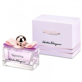SALVATORE FERRAGAMO SIGNORINA EAU DE TOILETTE EDT SPRAY PROFUMO DONNA 50ml