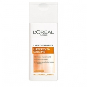 L'OREAL LUMINOSITA' SUBLIME LATTE DETERGENTE 200 ml