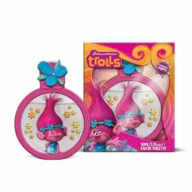 DREAMWORKS TROLLS POSITIVELY POPPY EDT EAU DE TOILETTE 50ml PROFUMO BAMBINI