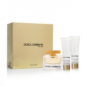 DOLCE E GABBANA KIT CONFEZIONE EDP 75ml BODY LOTION 50ml SHOWER GEL 50ml