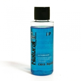 NATURAL HP CERA LIQUIDA MODELLANTE PER CAPELLI EFFETTO LUCIDO ACTION HAIR PROFESSIONALE 100ml