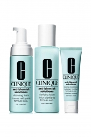 CLINIQUE ANTI-BLEMISH SOLUTIONS 3 STEP SYSTEM CONFEZIONE 3PZ FORMULA SOS