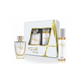 The First Aqua Di Desire Confezione Donna Edt 100 ml Piu Deo 150 Ml Simile Jadore
