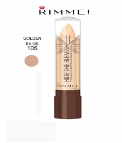 RIMMEL HIDE THE BLEMISH CORRETTORE IN STICK 4,5g 105 GOLDEN BEIGE
