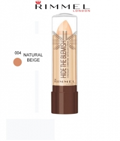 RIMMEL HIDE THE BLEMISH CORRETTORE IN STICK 4,5g 004 NATURAL BEIGE