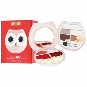 COFANETTO TRUCCHI PUPA OWL2 TROUSSE MAKE UP KIT ROSA 001 GUFO GUFETTO