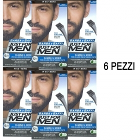 6 X JUST FOR MEN BARBA E BAFFI