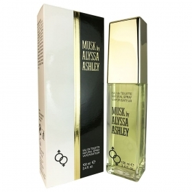 Musk By Alyssa Ashley Profumo Unisex Edt Eau De Toilette Spray 100 Ml