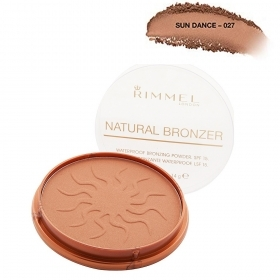 Rimmel Natural Bronzer Terra Abbronzante Waterproof Sun Light Spf 15 021 14Gr