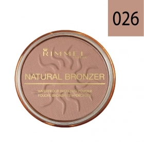Rimmel Natural Bronzer Terra Abbronzante Waterproof Sun Kissed Spf 15 026 14 Gr