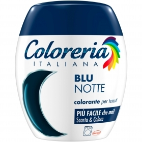 COLORERIA ITALIANA GREY TUTTO IN 1 COLORANTE PER TESSUTI BLU NOTTE 350g