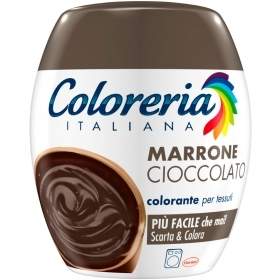 COLORERIA ITALIANA GREY TUTTO IN 1 COLORANTE PER TESSUTI MARRONE CIOCCOLATO 350g