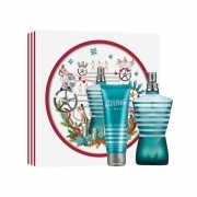 JEAN PAUL GAULTIER SET UOMO LE MALE EDT EAU DE TOILETTE 125 ml PIU GEL DOCCIA 75ml