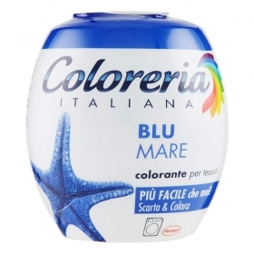 COLORERIA ITALIANA GREY TUTTO IN 1 COLORANTE PER TESSUTI BLU MARE 350g
