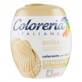 COLORERIA ITALIANA GREY TUTTO IN 1 COLORANTE PER TESSUTI BEIGE SABBIA 350 G