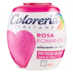 COLORERIA ITALIANA GREY TUTTO IN 1 COLORANTE PER TESSUTI ROSA ROMANTICO 350 G