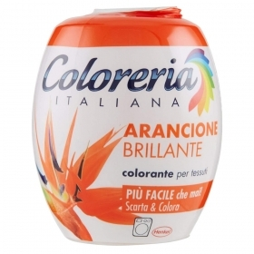 COLORERIA ITALIANA GREY TUTTO IN 1 COLORANTE PER TESSUTI ARANCIONE BRILLANTE 350 G
